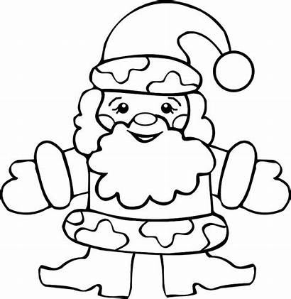 Coloring Christmas Santa Colour Fun Doll Whychristmas