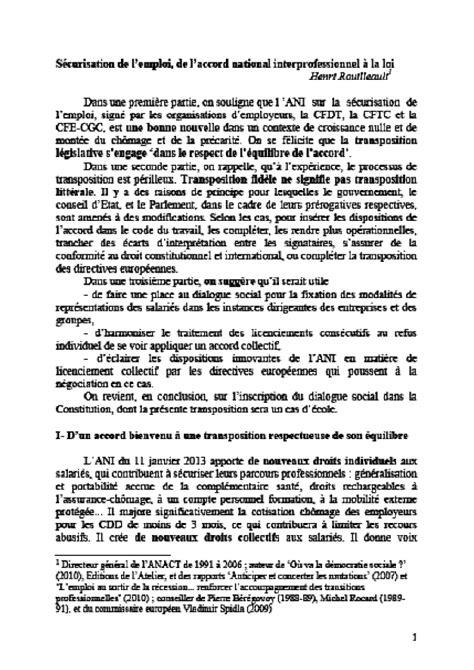 chambre sociale cour de cassation n 847 tome ii rapport sur le projet de loi après