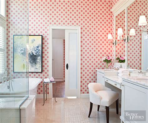 Bathroom Wallpaper by Bathroom Wallpaper Ideas