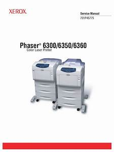 Phaser 6300 6350 6360 Parts List Service Manual