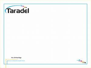 taradel yard signs templates With yard sign design template