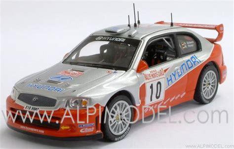 ixo-models Hyundai Accent WRC #10 Monte Carlo 2003 Schwarz ...