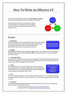how to write an effective cv With effective resume writing samples