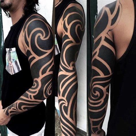 Cherokee Tribal Tattoo Sleeve
