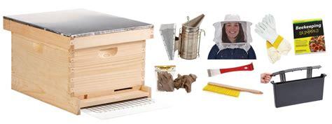 Backyard-frame Beginner Bee Hive Complete Kit For Bee