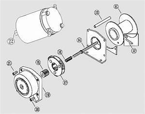Warn Winch 2500 Parts Diagram