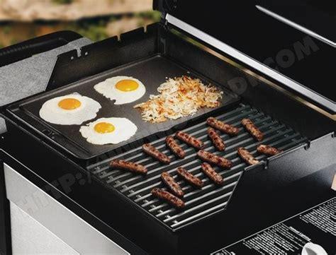 plancha en fonte pour barbecue plancha weber original top plancha