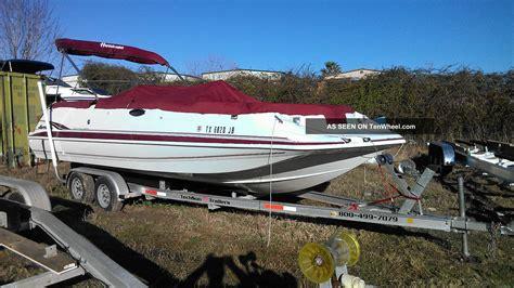 1999 Godfrey Hurricane Deck Boat by New Boats Hurricane Deck Boat Fundeck Gs 202 Ob