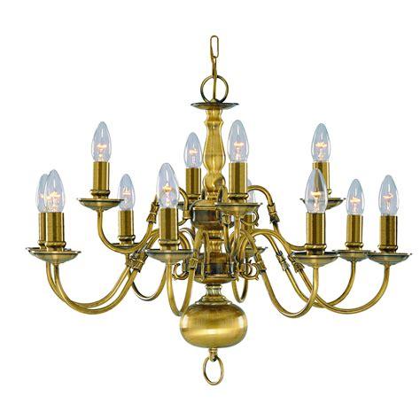antique brass chandelier flemish solid antique brass 12 light chandelier with metal