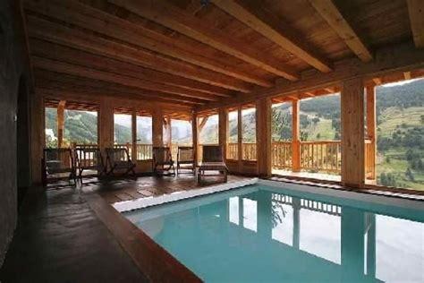 chalet grand luxe avec piscine int 233 rieure hammam vue panoramique vars