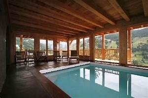 chalet grand luxe avec piscine interieure hammam vue With location chalet avec piscine interieure