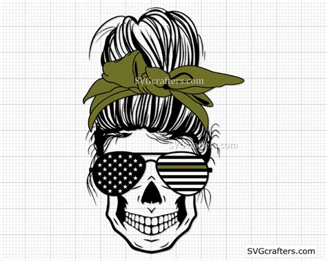 Freesvg.org offers free vector images in svg format with creative commons 0 license (public domain). Messy Bun Army svg, Military svg, Soldier svg, Patriotic ...