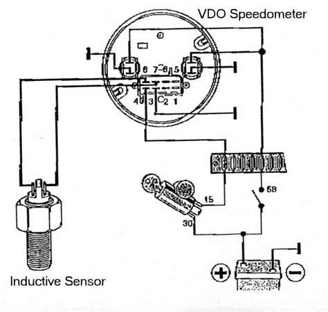 Vdo Tach Wiring Diagram by Speedo Transducer Ii