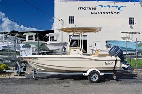 Used Boats For Sale In Miami Area by Used 2014 Scout 175 Sportfish Center Console Boat For Sale