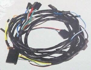67 Mustang Headlight Wiring Harnes by 1966 Mustang Wiring Harness Ebay