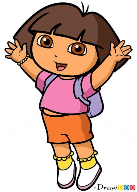 How To Draw Dora Dora