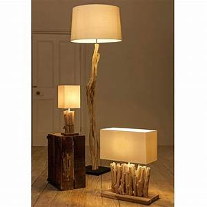 Table lamps turned wood table lamp base chunky wooden for Chunky wooden floor lamp