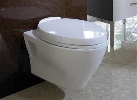 wall toilets  trendy space saving bathroom solution