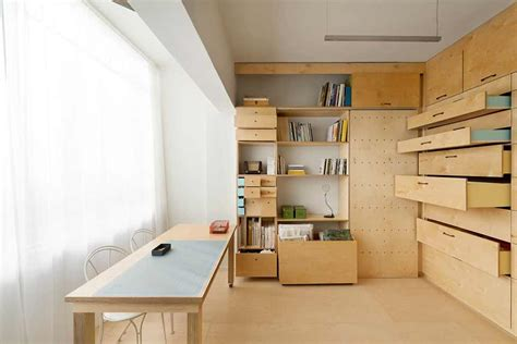 inspiring space efficient floor plans photo inspiring 15 sqm modular artist s studio ranking high in