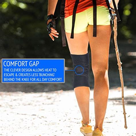 exous knee brace support protector relieves patella