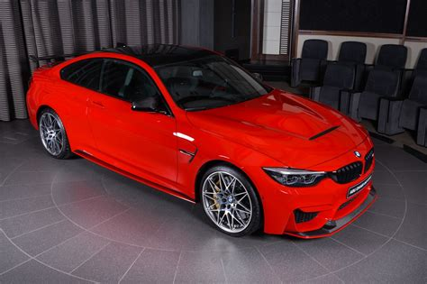 red bmw ferrari red bmw m4 oozing appeal with m performance