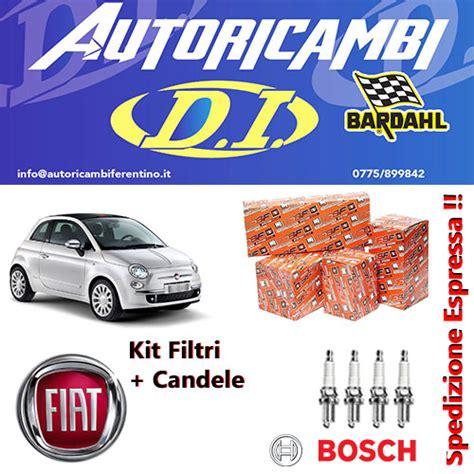 Candele Bosch Gpl by Kit Filtri Tagliando Fiat 500 150 1 2 8v Easypower Gpl