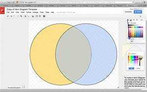 How To Insert A Venn Diagram In Google Docs