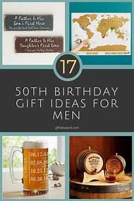 50th Birthday Gift Ideas Men
