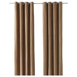 ikea sanela red pair of curtains drapes 2 window panels 98