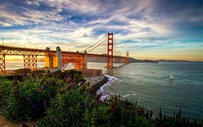 Francisco San Summer Wallpapers California Bridge Nature