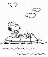 Snoopy Coloring Pages Baby Printable Peanuts Peanut sketch template