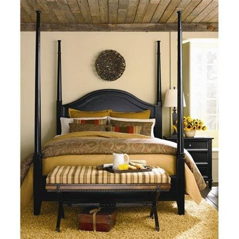 chatham complete queen poster bed  bassett dunk
