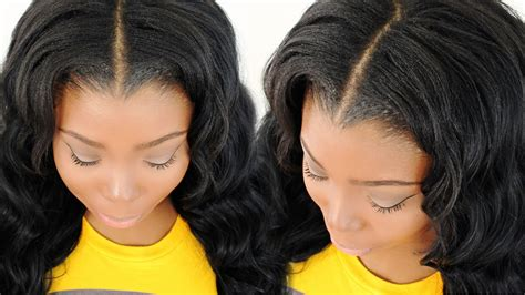 Blending & Straightening Your Leave Out With Your Sew In