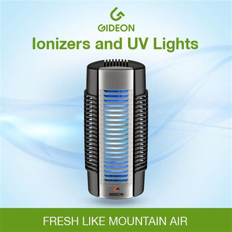 » Gideon™ Electronic Plug-in Air Purifier with UV Air