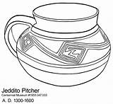Coloring Pottery Pages Printable Pot Template Nm Sketch Greek Templates Sheets Pueblo Popular Mexican Aztec Native American Coloringhome sketch template