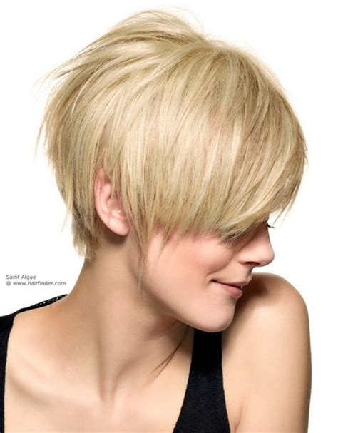 modele coiffure coupe courte effilee