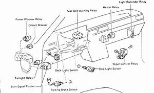 1986 Toyota Pickup Tail Light Wiring Diagram