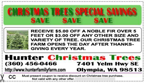 tree farm coupon coupons hunters family farms