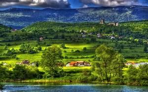 Paradise, Bihac, Bosnia, And, Herzegovina, River, Una, Nature