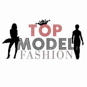 Top Model Fashion Logo | Top Model Fashion Logo (White ...