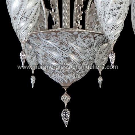quot jibla quot lustre en cristal de murano murano glass chandeliers