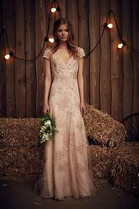 june blush wedding dress from jenny packham39s spring 2017 With dresses for a june wedding