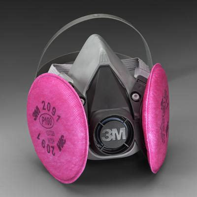 p reusable respirator gas mask medium