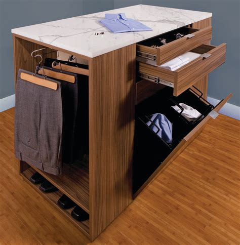 closet center island contemporary other metro by