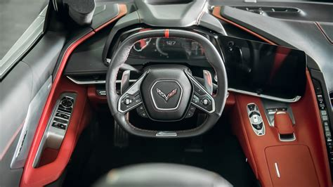 chevrolet corvette front interior drivers side