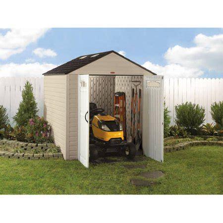walmart sheds rubbermaid rubbermaid 7 x 10 storage building maple walmart