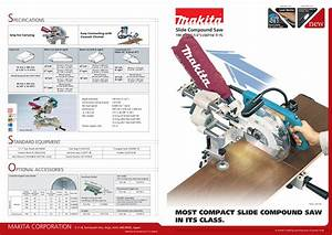 Download Free Pdf For Makita Ls0714 Compound Saw Other Manual