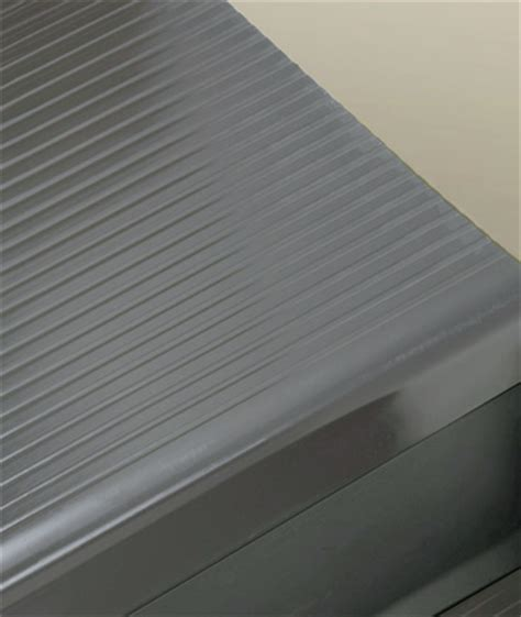 light duty ribbed vinyl stair tread roppe stair treads