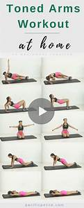 Workout Plan To Tone Arms For Women  Arm Workout Great For