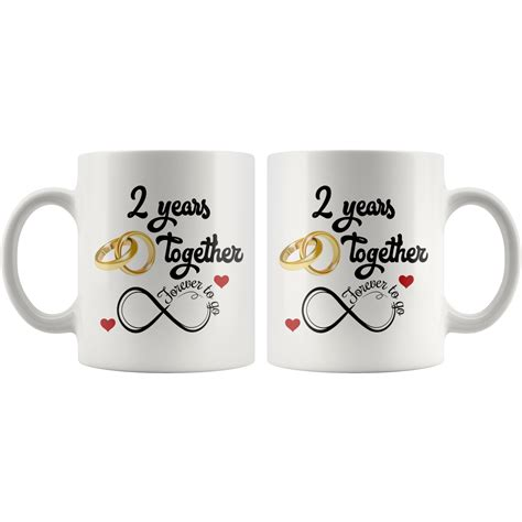 Finding probably the most unique approaches in the web? Second Wedding Anniversary Gift For Him And Her, 2nd Anniversary Mug F - Freedom Look